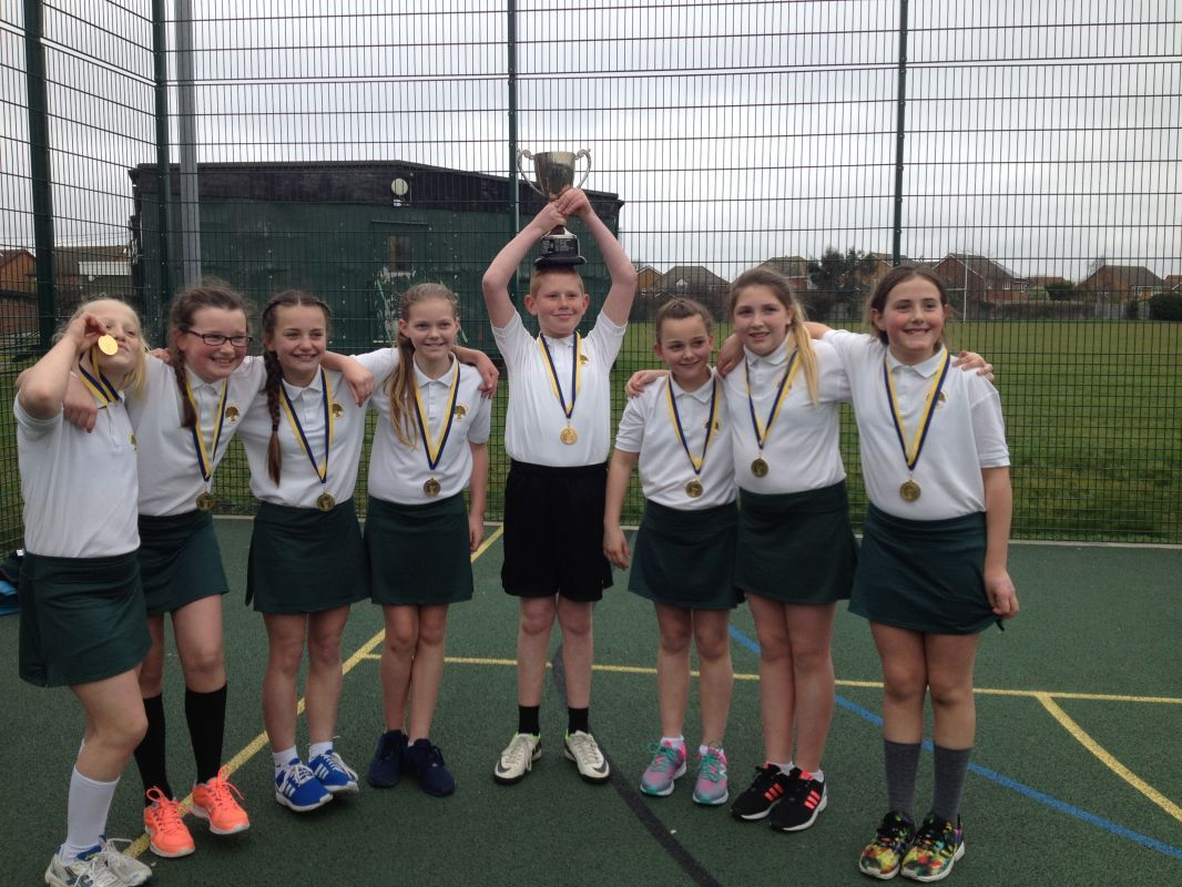 Year 6 Netball LB Havering League Champions March 2016